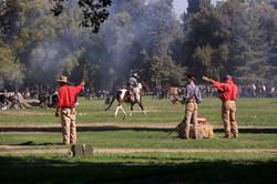Civil War Re-enactment Fresno CA.