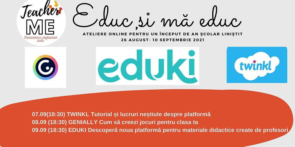 """Atelierele """"Educ și mă educ"""": descoperă platforme utile"""
