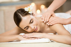 Aplicación de masaje
