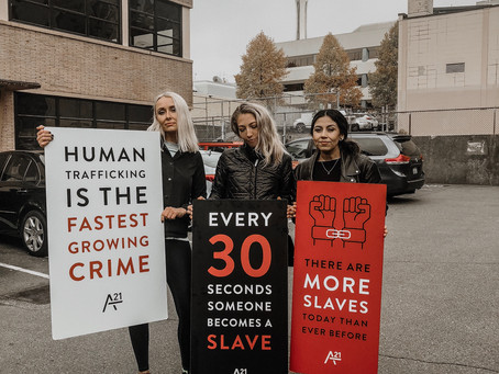 A Fight Against Human Trafficking, Slavery & Forced Labor