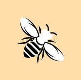 Backpacking Bee Instagram Graphic