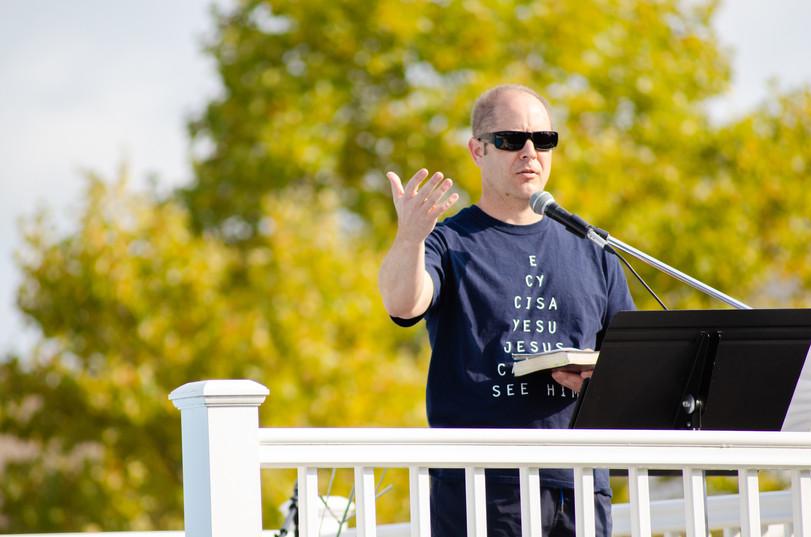 Outdoor Service - Lead Pastor