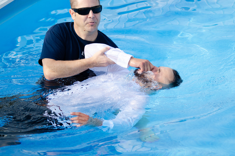 Outdoor Service - Baptism