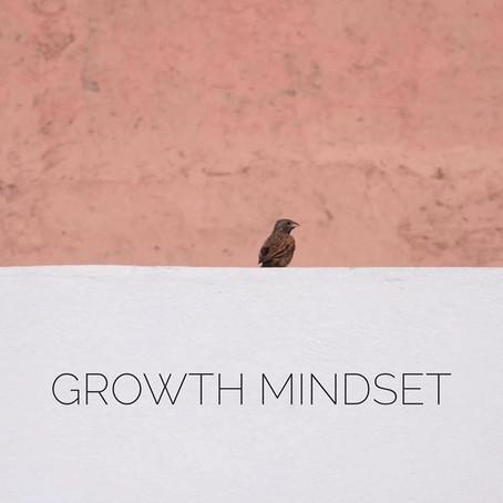 Growth Mindset - 4 Feb 2020