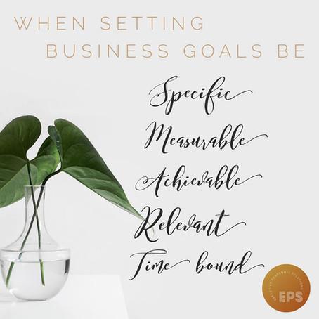 SMART Goals - 16 Dec 2019