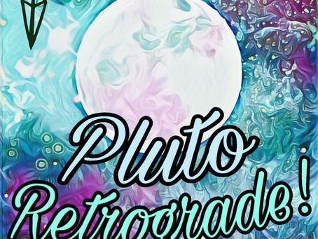 PLUTO RETROGRADE - APRIL '19