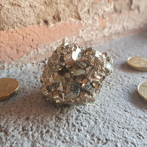 Pyrite Cube Cluster I