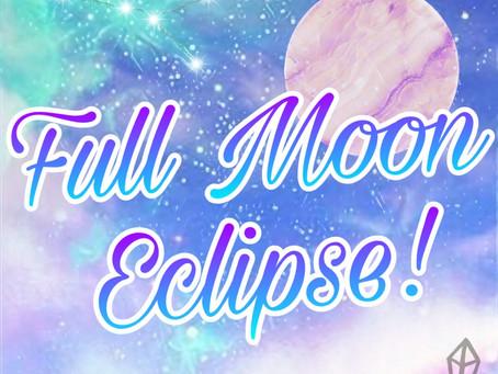 FULL MOON ECLIPSE - JAN 2020