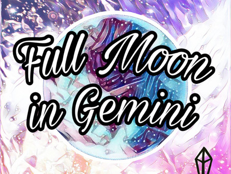 FULL MOON -NOVEMBER '18