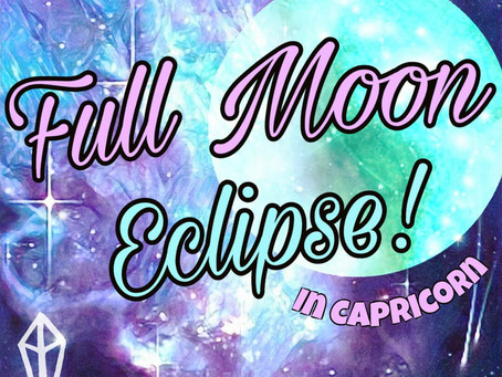 FULL MOON ECLIPSE - JULY '19