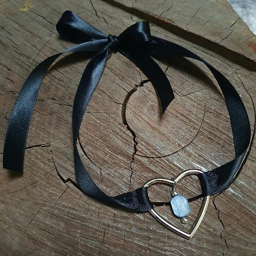Kyanite Ribbon Choker II