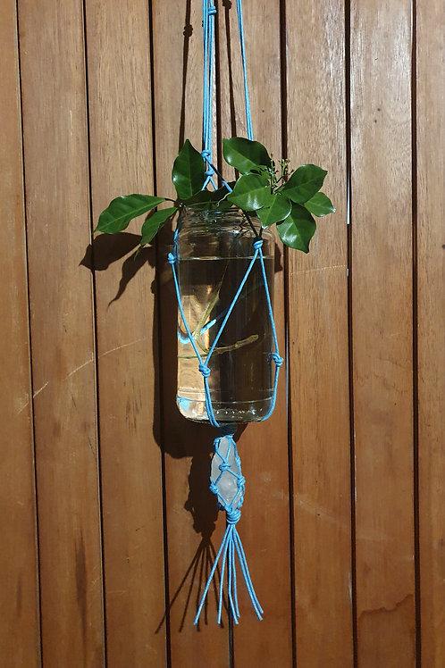Clear Quartz Plant Hanger V (Medium)