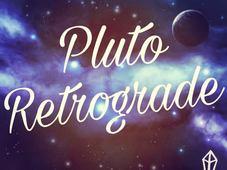 PLUTO RETROGRADE - APRIL 2020