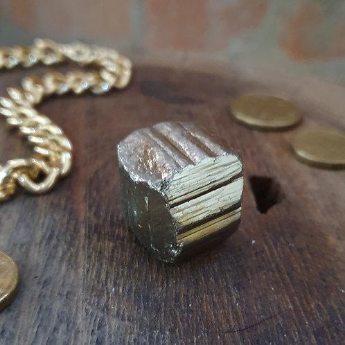 Natural Pyrite Cube I ~ Brilliant Shine