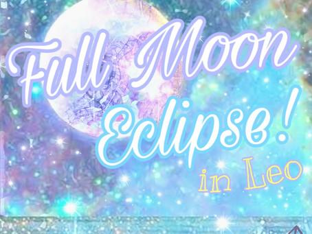 FULL MOON ECLIPSE - JANUARY '19