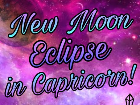 NEW MOON ECLPISE - DEC '19