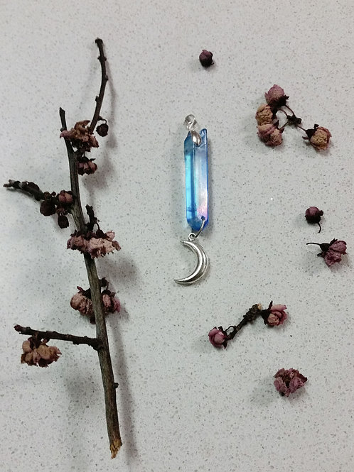 Aqua Aura Charm Based Pendant I