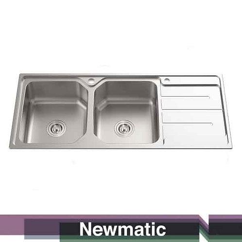 Double 118 Ultra Deep Bowl Kitchen Sink