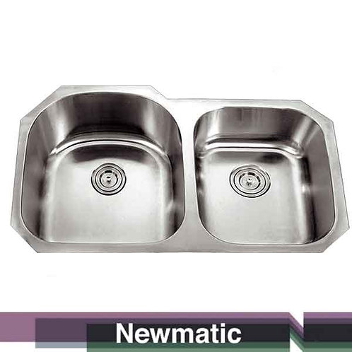 Double U86 Undermount Kitchen Sink