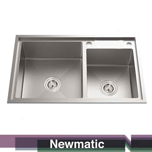 Double HU82 Undermount Handmade Kitchen Sink