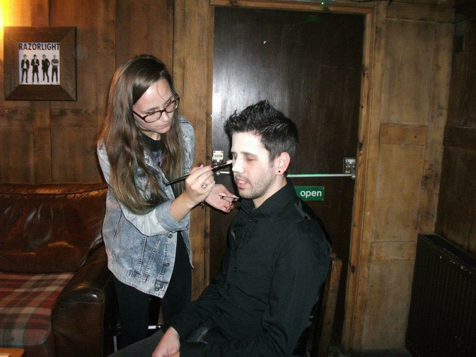 Special FX Make-Up for Theatrical Event
