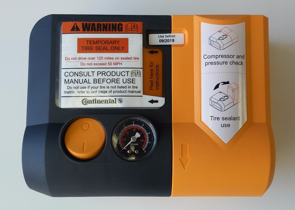 Continental Tire ContiComfortKit mobility kit