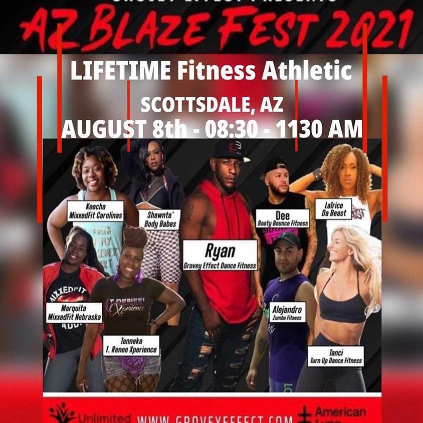 AZ BLAZE FEST 2021 - LIVE in Arizona!!   8/8/2021  8:30-11:30am AZ time