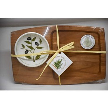 Appetizer Board with Bowl
