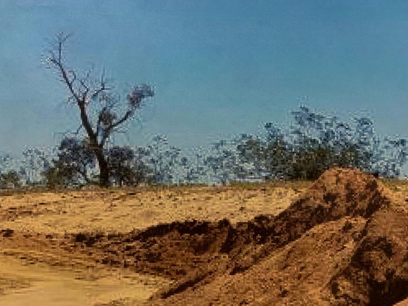 Excavation Landscape (detail)
