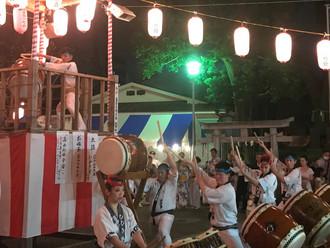 女塚神社 盆踊り
