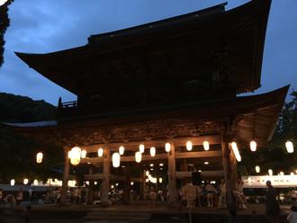 北鎌倉「円覚寺」盆踊り