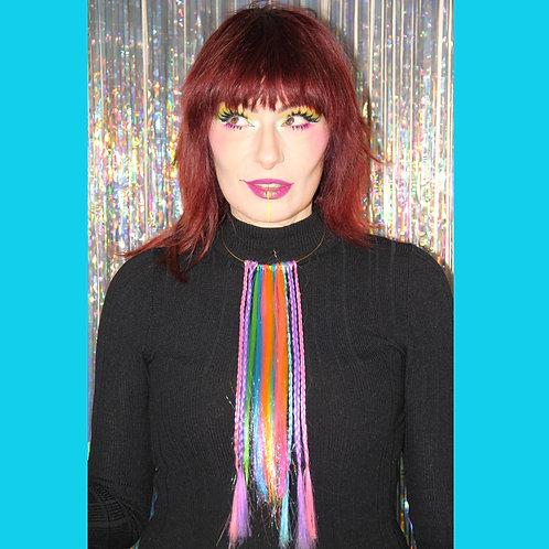 Collier Rainbow Hair