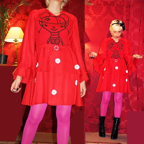 Robe Vintage Rouge