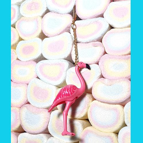 Boucles d'oreille Flamants Roses Playmobil