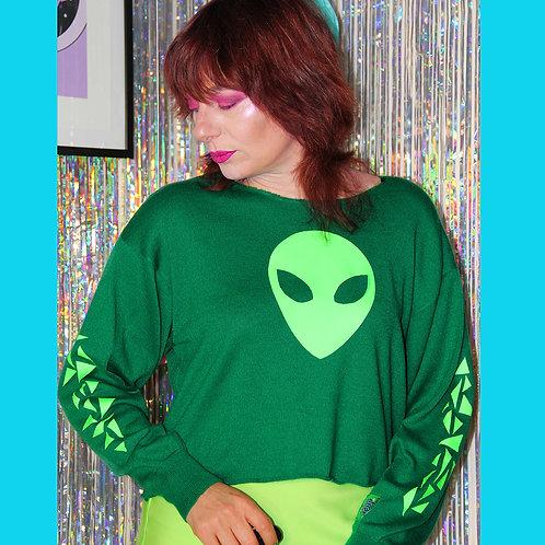 Pull Vert Alien