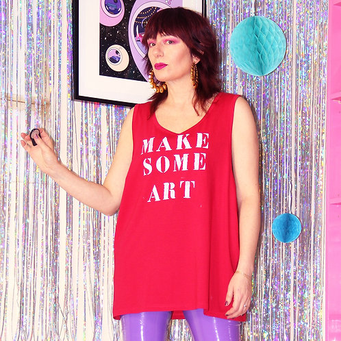 "Tee-shirt ""Make some art"""