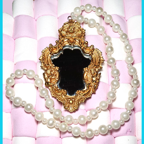 Collier Miroir Baroque