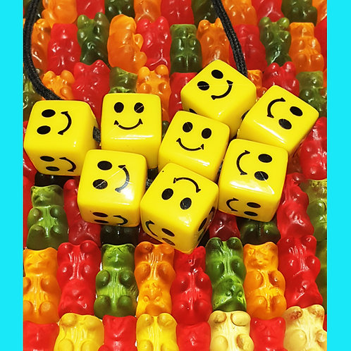 Collier Cubes Smiley