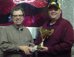 Keating Wins Des Moines Fall Classic