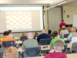 Chess Clinic attended by 25