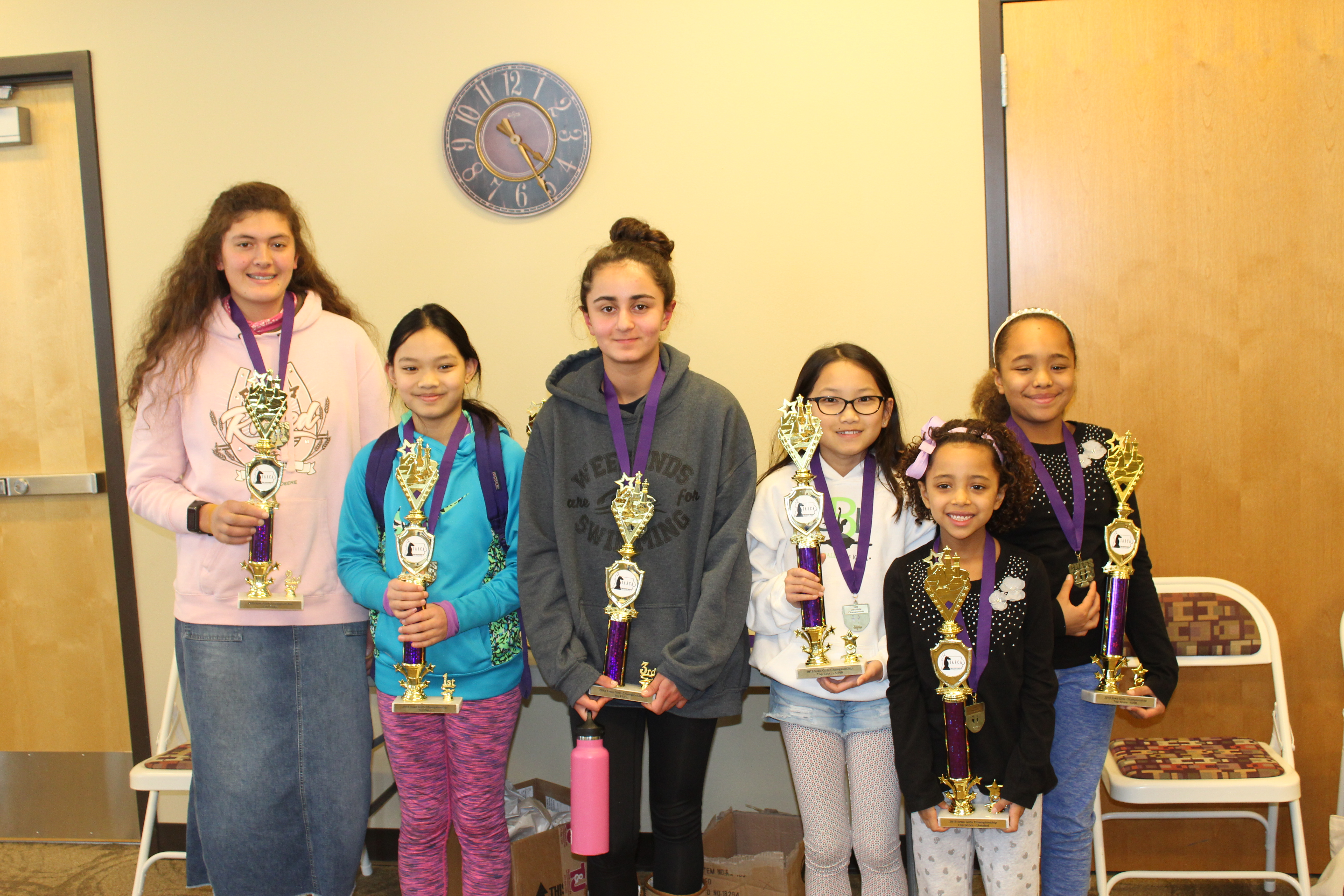 2018 Iowa Girls Chess Championship