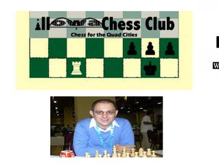 Grandmaster Vladimir Georgiev coming to the Q-C on June 22