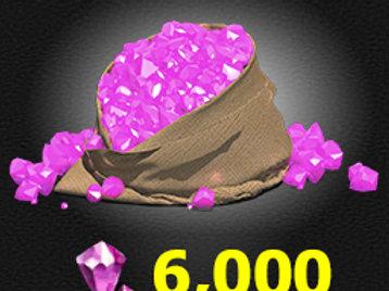 6,000 Gems