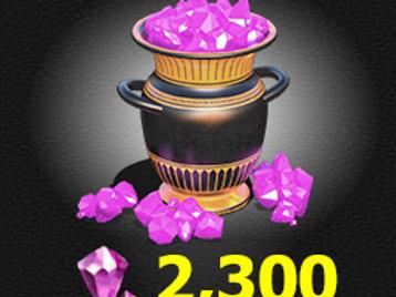 2,300 Gems
