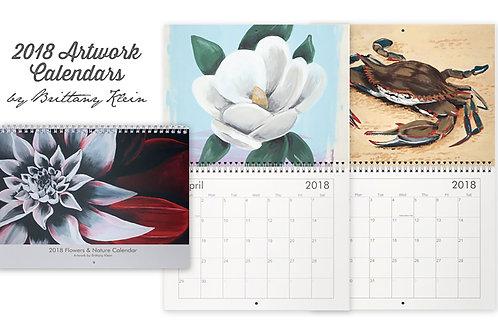 2018 Flowers & Nature Calendar