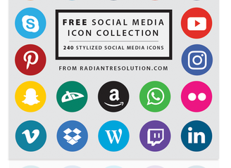 Free Social Media Icon Set!