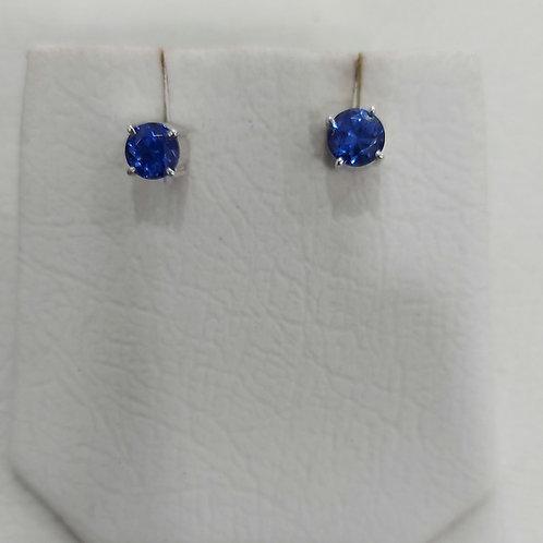 Whitegold earrings