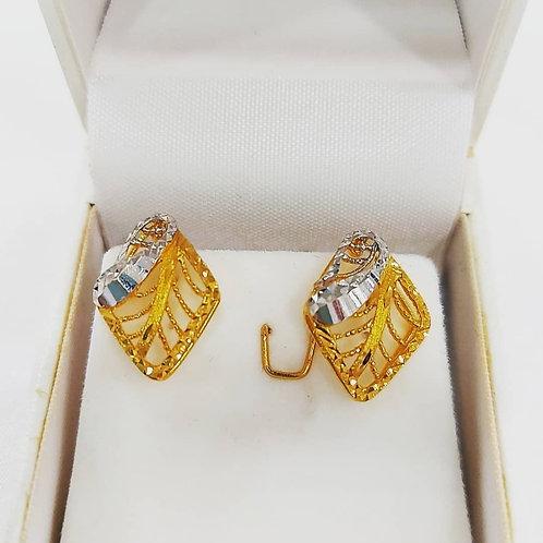 Yellowgold earrings