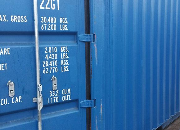 20' DV nieuwe container