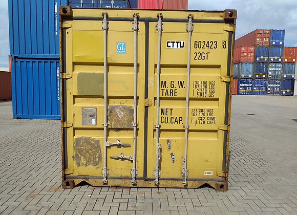 20' DV tweedehands container